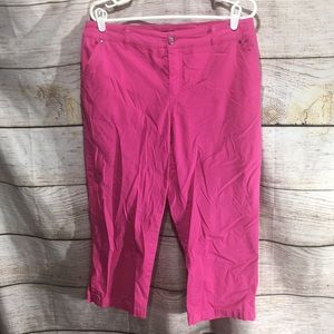 Tribal Hot Pink Long Shorts size 10 with pockets
